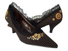 Steampunk Shoes by hippyofdoom.deviantart.com
