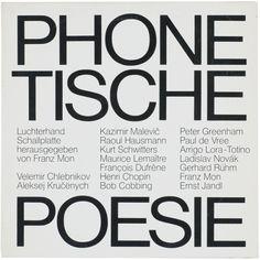 garadinervi: Phonetische Poesie, Luchterhand Verlag,...