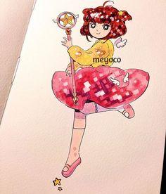 Sakura - @meyoco on Instagram !!