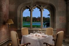 Discover your dream vacation in Ireland at a spellbinding castle hotel, Adare Manor. Adare Manor, House Restaurant, Outdoor Furniture Sets, Outdoor Decor, Trip Advisor, Ireland, Doors, Home, English Manor