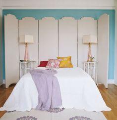 #bedroom weird headboard