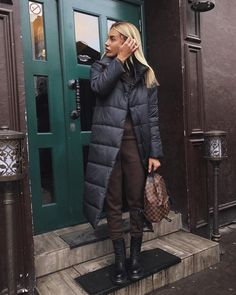Trendy moda damska sukienki 2019 ideas - Lilly is Love Mode Outfits, Fashion Outfits, Womens Fashion, Fall Winter Outfits, Autumn Winter Fashion, Winter Clothes, Mode Ootd, Long Puffer Coat, Puffer Coats