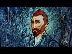 Garip Ay: Artista turco recria famosos quadros de Van Gogh usando água e tinta - Follow the Colours