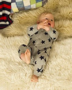 Baby Boy All in one Romper suit / Babygrow - Funky Brights - View by Range - Unisex Baby Clothes