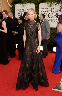 The Golden Globes Best Dressed Celebrities: Cate Blanchett