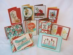 Spring Mini 2014 Card Buffet...... - Stamping Moments