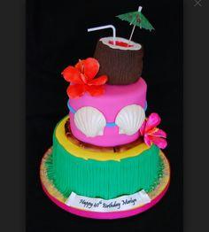 Amazing Picture of Hawaiian Birthday Cake Hawaiian Birthday Cake Hawaiian Themed Birthday Cake Cakecentral Birthday Cakes For Men, Hawaii Birthday Cake, Aloha Cake, Hawaii Cake, Hawaiian Birthday, Themed Birthday Cakes, Themed Cakes, Hawaiian Luau, Birthday Bash