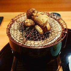 先方さんの希望で...食べ納め#松茸#豪龍久保 #西麻布#懐石料理 #Japanesefood#kaiseki by miyumiyukis
