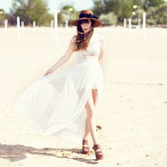 Vintage Hat, Miss Kl Dress, Matiko Woven Heels