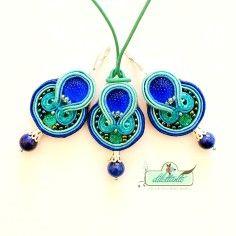 Soutache Pendant Cord Necklace Soutache - 2014 Custom Statement Necklaces
