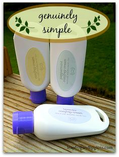 Genuinely Simple Comfrey Cream Review and Indiegogo Campaign - Leapfrog and Lipgloss  #skincareproducts