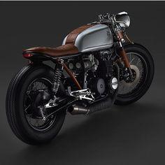 """Amazing Honda cb650. Thanks @returnofthecaferacers for raging us. . . . . #caferacer #hondacb #honda #motorcycle #style #beautiful #mcm #wcw #hot #vintage…"""
