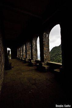 Serra do Mar em SBCampo e divisa com a Cidade de Cubatao - São Paulo -        Casa de Pedra construída por D. Pedro I para a Marquesa de Santos - Brasil