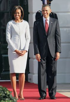 President Barack Obama & First Lady Michelle Obama!