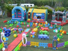Jumping castle hire Brisbane+tons of toys