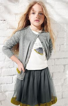 ALALOSHA: VOGUE ENFANTS: Il Gufo AW'15 girlswear