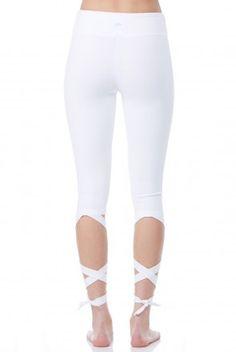 Jala Clothing Dancer Capri In White