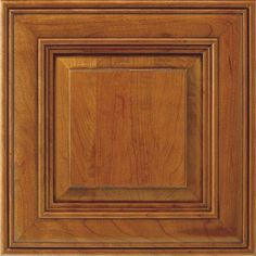 14.5x14.5 in. Cabinet Door Sample in Thomasville Camden Cherry Whiskey Black-772515379826 at The Home Depot