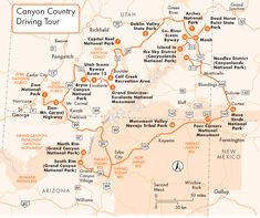 A map of southern Utah and northeast Arizona, showing how close Zion ...