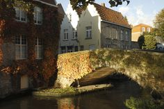 The Peerdenbrug in Bruges, Belgium. Photo: Marc Willems #bridge #ivy