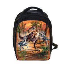 1bc95a8dd298 Cool Dinosaur Backpack Magic Dragon Students School Bags Boys Girls Kindergarten  Backpacks Children Bag Kids Best