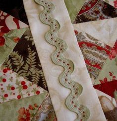 cute idea for a border #quilting