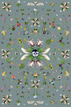 Moooi Carpets Vloerkleed Garden of Eden - grijs - Femkeido Shop