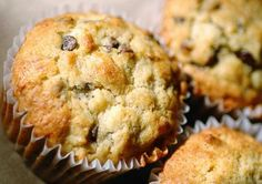 Flat Belly Diet Recipes: banana split muffins