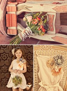Wedding: Jasmine + Drew's Mexican Rodeo Wedding Flower girl is so adorable. Love that giant pin (or just the part of the dress).Flower girl is so adorable. Love that giant pin (or just the part of the dress). Flower Girls, Cute Flower Girl Dresses, Wedding Trends, Wedding Blog, Our Wedding, Wedding Ideas, Wedding Decor, Wedding Stuff, Wedding Details