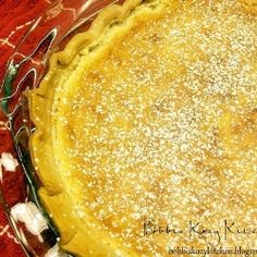 Classic Southern Style Buttermilk Pie