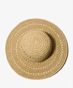 Open Weave Floppy Hat   FOREVER21 - 2025100497