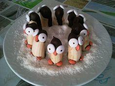 Bananen-Pinguine, ein beliebtes Rezept aus der Kategorie Frucht. Bewertungen: 5. Durchschnitt: Ø 4,3.
