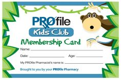 The Lawons Drugs PROfile #Kids Club is a program created just for little #pharmacy customers. While we all know that being #sick isn't fun, the PROfile Kids Club aims to make pharmacy visits a positive experience. To join, when dropping off a #prescription, simply tell your #pharmacist that you would like to enroll your child in the PROfile Kids Club.