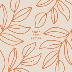 Love this design by Olivia Herrick. I love how she incorporates the orange leaves in with a great quote design