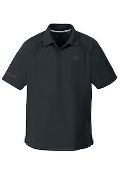 Looks comfortable...  FIAT 500e Men's Recycled Polyester Polo