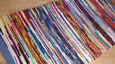Handmade  colourful cotton rug Rag   Retro   Size 200 *  92 cm by Handgraft on Etsy