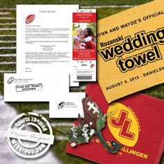 A collection of short videos to help provide some ideas for your Football Themed Wedding ...