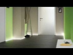 Aluminium profiles for indirect lighting by LED Strips - very easy to assemble - YouTube