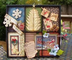 Christmas Altered Tray
