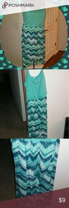 Plus size hi low beach maxi dress sundress This 3x hi low maxi dress is perfect for a sunny day or walk on the beach! Dresses Maxi