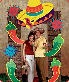 Fiesta Mexicana photo booth