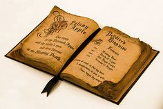 DIY spell book or anything book. Very Cool