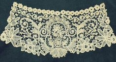 Duchesse bobbin lace — 19th century style — Brussels