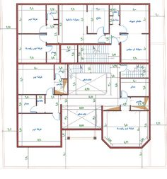 3 2bhk House Plan, Square House Plans, 3d House Plans, Model House Plan, Simple House Plans, House Layout Plans, Home Design Floor Plans, Family House Plans, Luxury House Plans