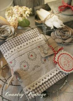 My Country Cottage Garden: A little grey notebook cover