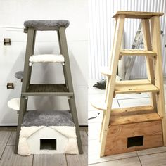Arbre a chat maison!                                                       … Diy Cat Tree, Cat Trees, Stuff To Do, Pet Stuff, Cat Room, Cat Condo, Happy Animals, Catio, Cat Life