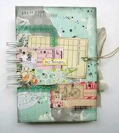 A happy feeling journal book...By czekoczyna on Flickr
