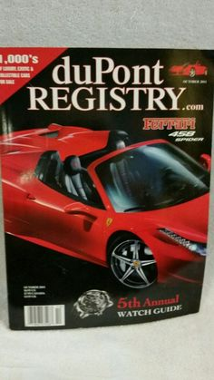 DuPont Registry 5th annual watch guide October 2011