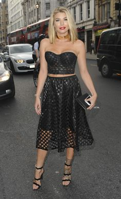 Olivia Buckland at the Intent UK film premiere, London (25 July, 2016)