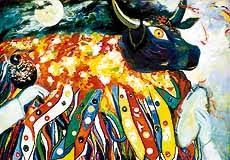 Marajá Literário: ARTE É ENCANTAMENTO  ARTE É ENCANTAMENTO Sem a magia e o encantamento da arte a vida tende a tornar-se insípida, inodora e incolor! (Émerson Ghislandi)